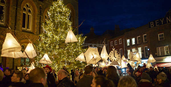 Newbury Festival of Light - Lantern Procession